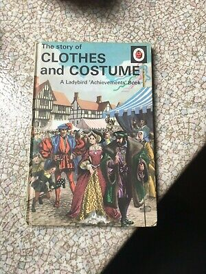 Vintage Ladybird The Story Of Clothes And Costumes Book Series 601 • 2.70£
