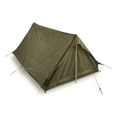 $59.98 • Buy French Military Issue 2 Person Tent Army Surplus Shelter Pup New Genuine F2 Tent