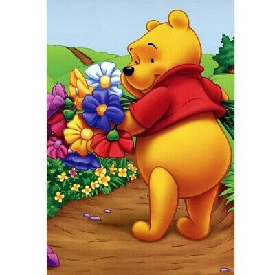 AU12.49 • Buy DIY 5D Diamond Painting Full Drill Winnie The Pooh Craft Art Decor Gifts