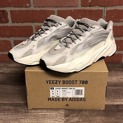 $ CDN756.44 • Buy 2018 Adidas Yeezy Boost 700 Static Sz 8.5 Art Ef2829 Grey Cream 3m Low Sneaker
