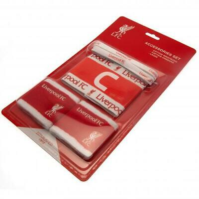 Liverpool FC Accessories Set Official Merchandise NEW UK • 11.49£