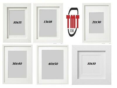 New IKEA Ribba Black Picture Photo Frame Square Photo Display Various Sizes • 12.98£
