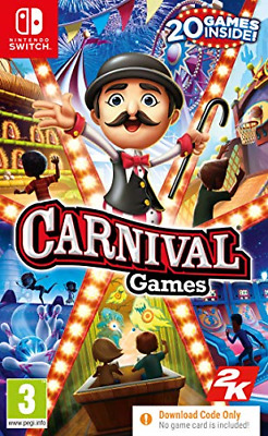 Carnival Games Nintendo Switch • 28.56£