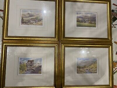 Lake District Limited Edition Prints Ken BURTON -COUNTIES OF BRITAIN • 4.99£