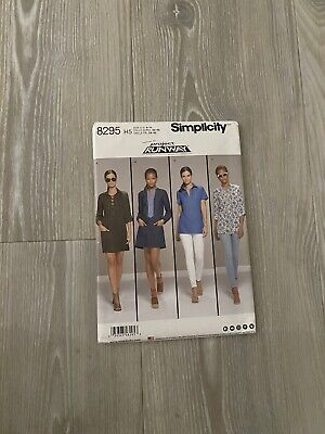 Simplicity 8295 Ladies Dress And Shirt Sewing Pattern Size US 6 -14 • 5£