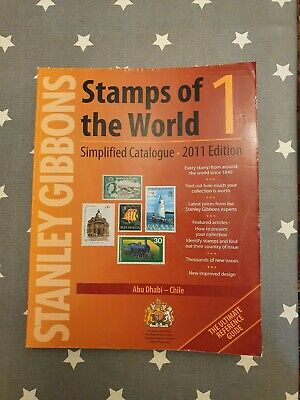 £90 • Buy Stanley Gibbons Stamps Of The World 2011: V. 1-6: Simplified Catalogue, , Good C