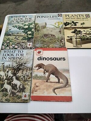 Ladybird Books X 5 Books Old Books But Fantastic Reads  • 2£