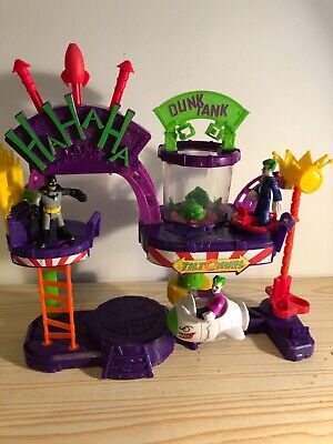Fisher-Price Imaginext DC Super Friends The Joker Laff Factory With Figures  • 10£