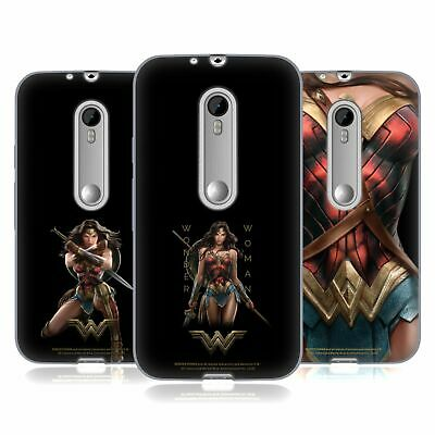 Official Wonder Woman Movie Character Art Soft Gel Case For Motorola Phones 2 • 15.58£