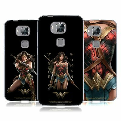 Official Wonder Woman Movie Character Art Soft Gel Case For Huawei Phones 2 • 15.58£