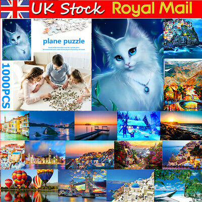 1000Pieces Cute Cats Adult Kids Puzzles Jigsaw Educational Toy Decoration Puzzle • 11.29£