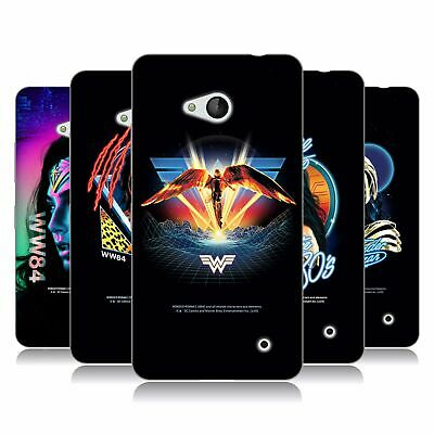 Official Wonder Woman 1984 80's Graphics Soft Gel Case For Microsoft Phones • 15.58£