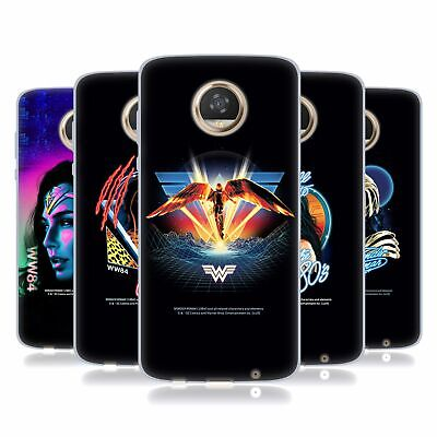 Official Wonder Woman 1984 80's Graphics Soft Gel Case For Motorola Phones • 15.58£