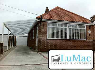 £426.65 • Buy Carport Patio Decking Canopy Garden Cover Shelter Lean To Animal Dog Pet Awning