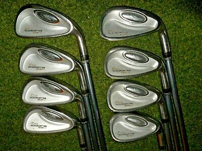 AU219.52 • Buy GREAT LADIES KING COBRA GOLF CLUBS SS-I IRON SET With  WOMENS FLEX SHAFTS
