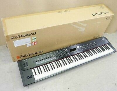AU3141.67 • Buy Roland RD-2000 Stage Piano 88 Keys Electric Keyboard Digital Pedal