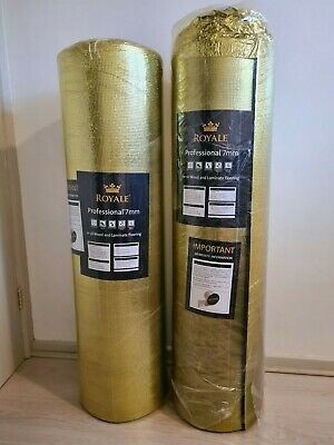 Royale Professional 7 Mm Underlay For All Wood & Laminate Flooring, New! • 55.97£