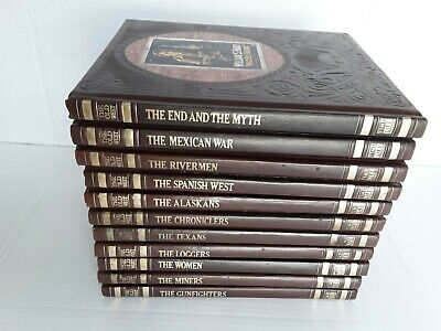 Time-Life Books - The Old West Series Hardcover Lot Of 11 Books • 25£
