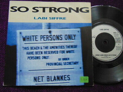 LABI SIFFRE   So Strong     7  Vinyl   WOK 12 • 1.99£