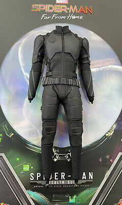 $ CDN177.13 • Buy Hot Toys MMS540 Spiderman Far From Home Stealth Suit Slim Body W/ Tactical Gear