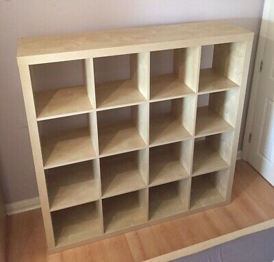 May Deliver. IKEA Expedit ( Now Kallax) Birch 4x4 Discontinued. South East • 60£