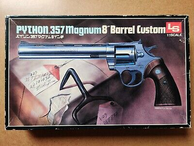 Ls 1/1 Scale Model Colt Python Custom 8  Complete + Instructions *fast Delivery* • 139.99£