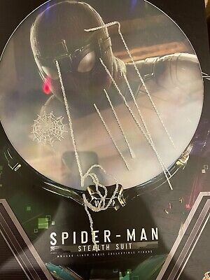 $ CDN35.41 • Buy Hot Toys MMS540 Spiderman Far From Home Stealth Suit Full 7 Piece Web Set Loose