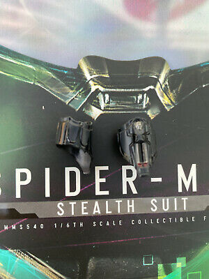 $ CDN26.55 • Buy Hot Toys MMS540 Spiderman Far From Home Stealth Suit Web Shooters Loose Uk