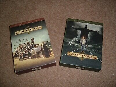 Carnivale Seasons 1 And 2 Complete DVD Box Sets HBO Set Series • 17.88£