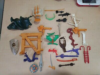 $120 • Buy Masters Of The Universe MOTU Accessories Weapons Lot