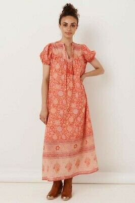 AU200 • Buy Spell And The Gypsy LOVE STORY SHORT SLEEVE BOHO DRESS - Size M