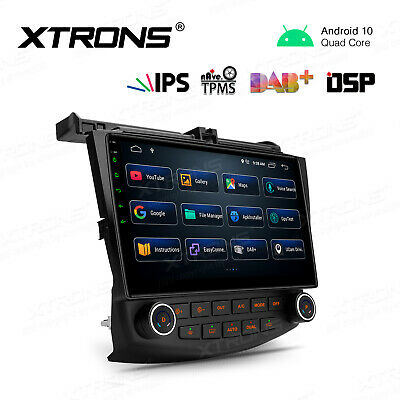 $279.99 • Buy 10.1  Android 10 Car Stereo Radio 4 Core DSP IPS WiFi For Honda Accord 2003-2007