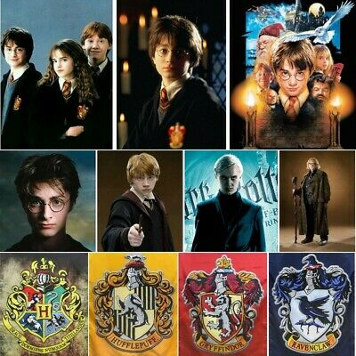 £5.99 • Buy DIY 5D Full Drill Diamond Painting Kits Harry Potter Mural Embroidery Decors
