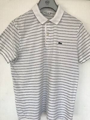 Mens Lacoste Polo Shirt Size 4 • 0.99£