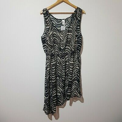 AU20 • Buy Target Size 20 Animal Print Sleeveless Summer