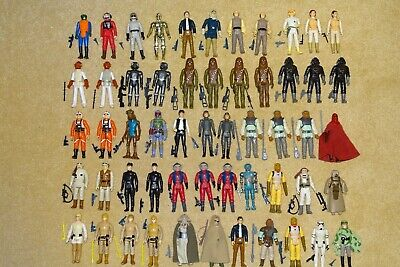 $ CDN14.07 • Buy Vintage Star Wars Figures With Replica Weapons - Your Choice