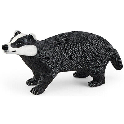 £6.80 • Buy Schleich Badger Figure Wild Life Collectable Toy Animal Figures 14842 Ages 3+