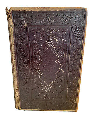 Antique Illustrated History Of The Bible 1868 Hardcover By John Kitto D.D.  • 92.18£