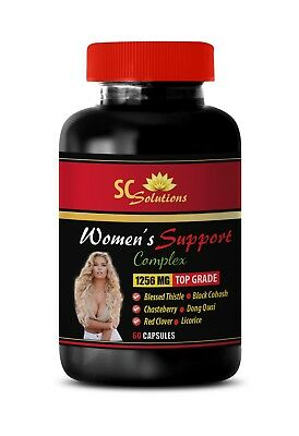 Help With Hot Flashes Women's Support Complex 1256mg, Antioxidant Polyphenols 1B • 13.40£