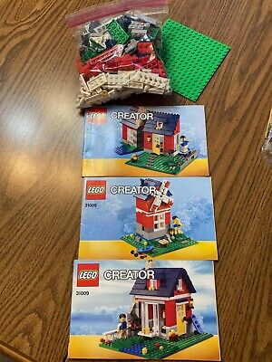 Lego Small Cottage (31009)~Creator~3 In 1~Cottage, Windmill & House~Boy Or Girl • 21.46£