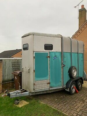 IFOR WILLIAMS HB510, HUNTER TRAILER, IDEAL GIN / PROSECO BAR, NEW 18mm PLY FOOR • 690£