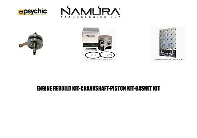 $256.60 • Buy New Engine Rebuild Kit Crankshaft Topend Piston Kit Gaskets 2003 Kawasaki Kx125
