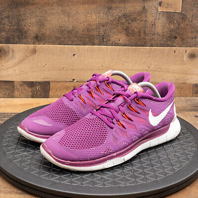 $ CDN48.45 • Buy Nike Free 5.0 Womens Athletic Shoes Running Walking Training Purple Low Size 11