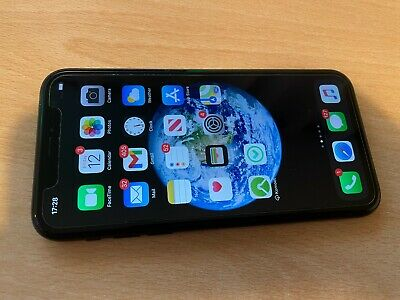 Apple IPhone XR - Used, 2 Years Old, Rear Glass Cracked, Works Fine • 234.78£