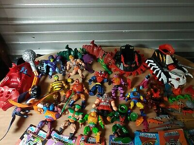 $102.50 • Buy MOTU LOT OF 14 - First Editions! He-man And Skeletor, Battle Cat W 8 Comics!