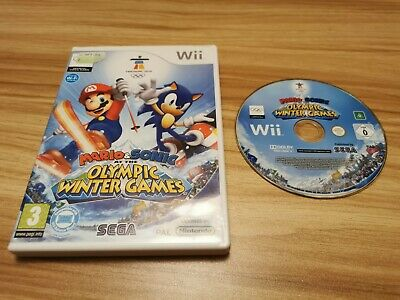 Mario & Sonic At The Olympic Winter Games For Nintendo Wii Boxed  • 5.95£