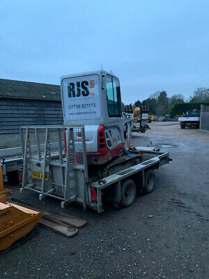 Ifor Williams Digger Plant Trailer 3.5 Ton  • 2,200£