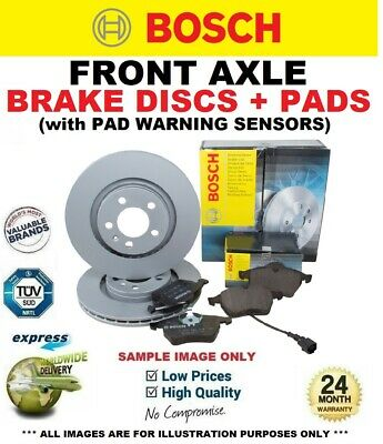 AU237.47 • Buy BOSCH FRONT DISCS & PADS + SENSORS For MERCEDES VITO Bus 116 CDI 4x4 2010->on
