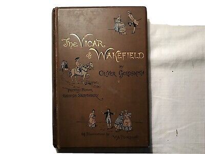 THE VICAR OF WAKEFIELD By Oliver Goldsmith (Hardback, 1886) Colour Illustrations • 50£