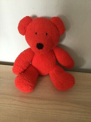 Cherry From My Rainbow Of Teddies. Hand Knitted. Baby Safe Filling  • 13£